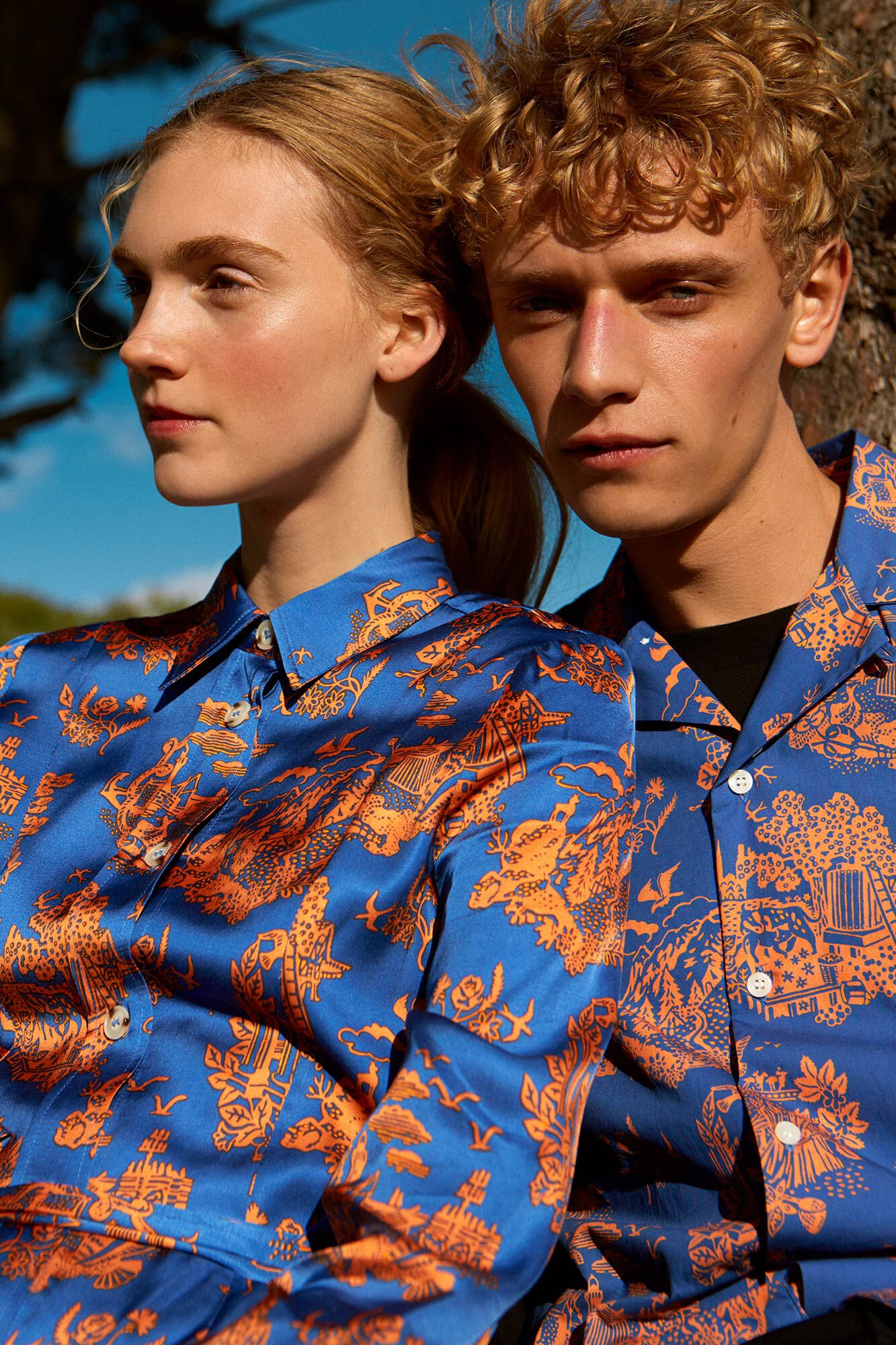 Renata shirt 11911706-1154, TOURIST BLUE