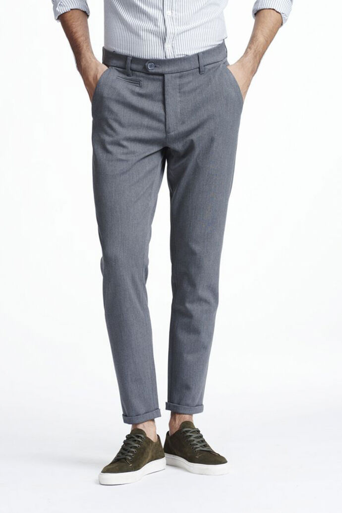 Como Suit Pants LDM501001, GREY MELANGE