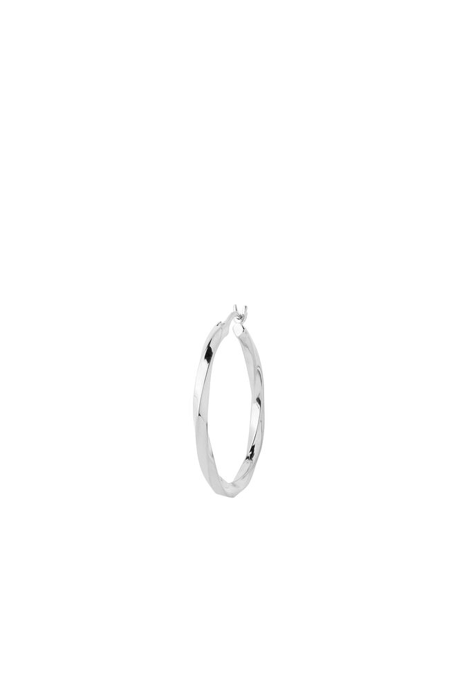 Francisca Hoop Small 100661, SILVER HP