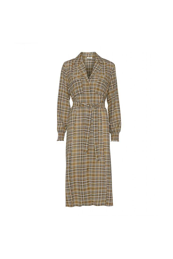Judith dress, NAVY CHECK
