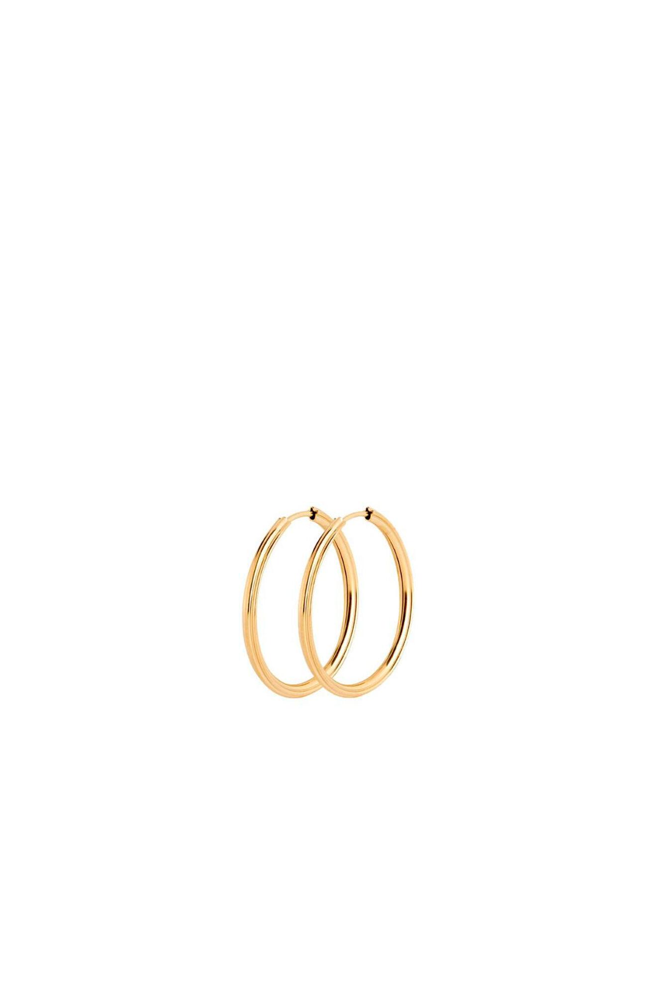 Sunset hoop 25 100723YG, GOLD HP