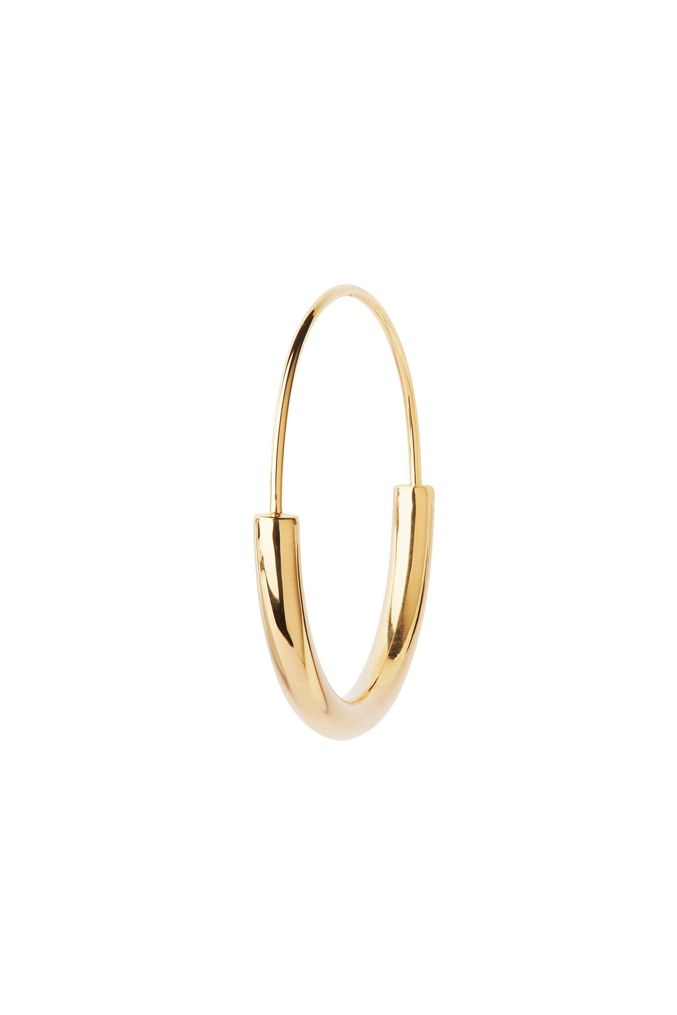 Serendipity hoop medium, GOLD