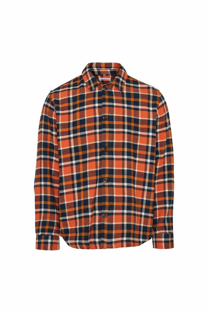 Pine checked overshirt, TOTAL ECLIPSE
