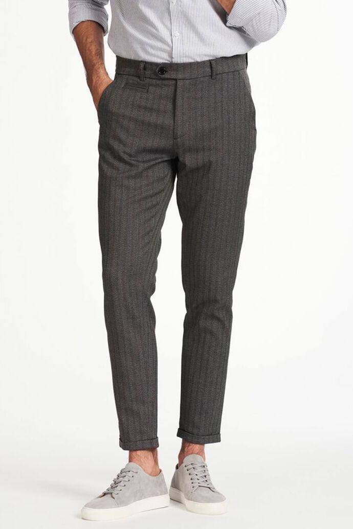 Malus suit pant LDM501003, GREY MELANGE