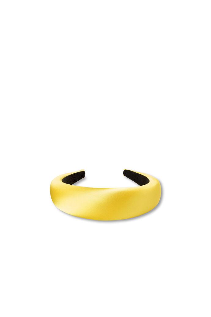 Satin headband 96151100, YELLOW
