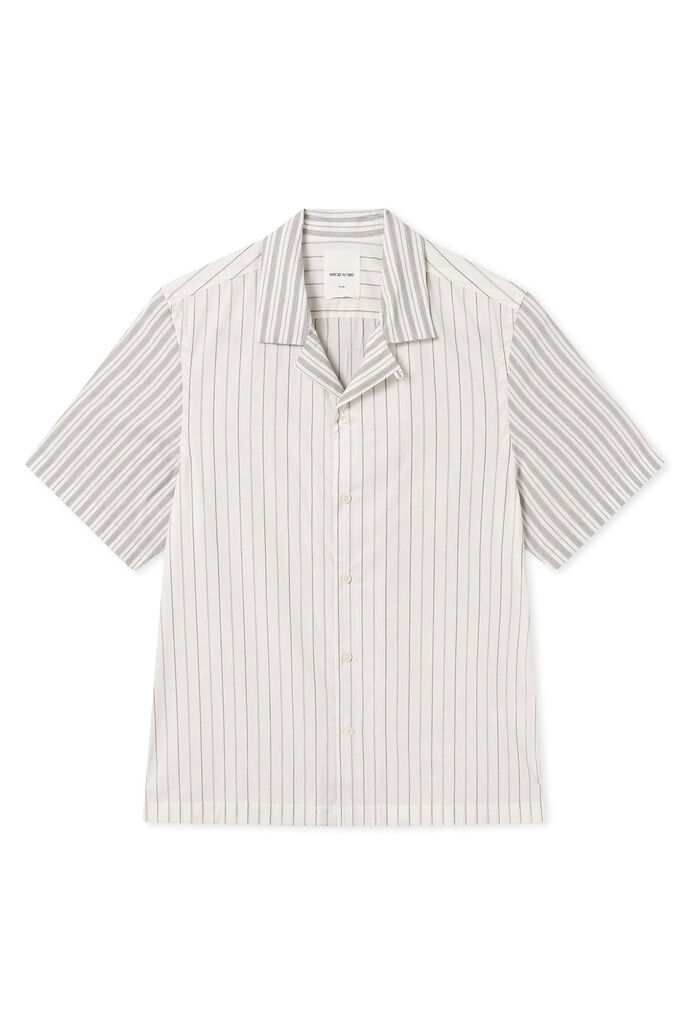 Brandon shirt 12015312-1185, OFF WHITE STRIPES