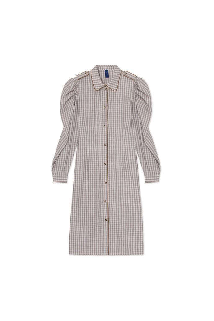 Alisha dress 08450502, WOOD