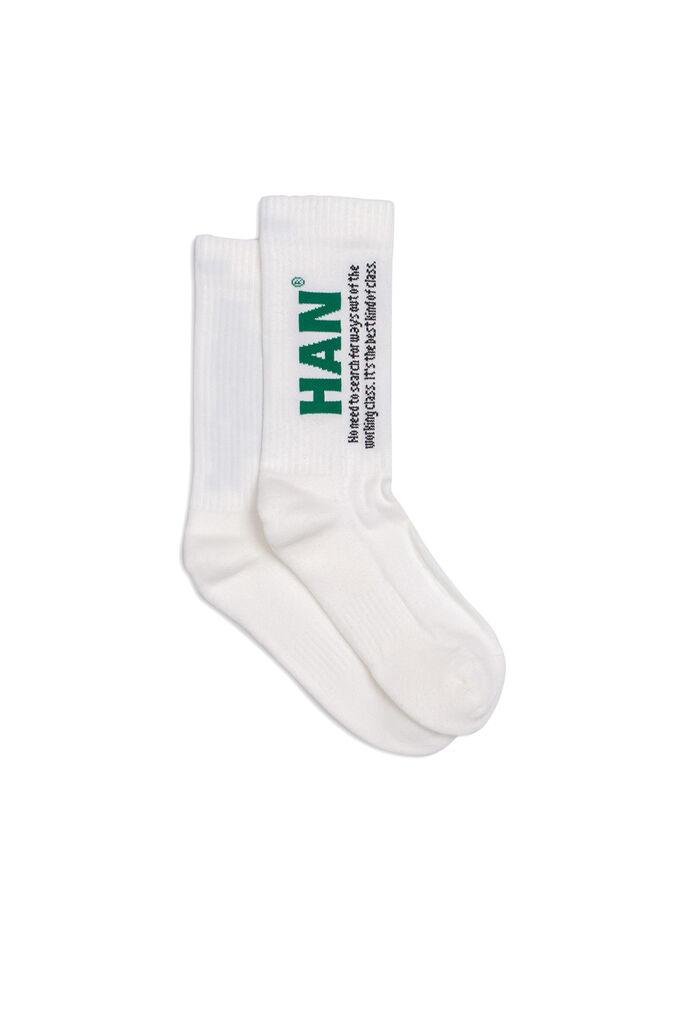 Socks A-130006, OFF WHITE