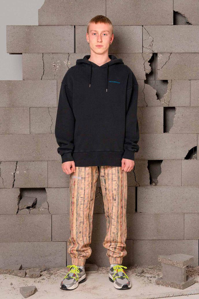 Bulky hoodie M-120054