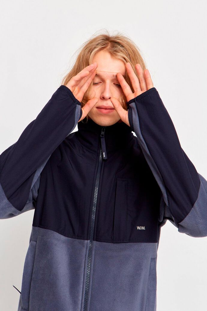 Hannes jacket 11945104-2468, STEEL BLUE