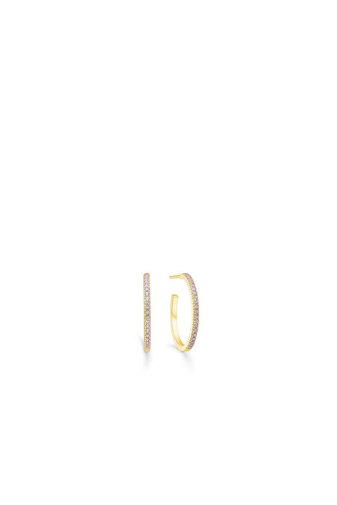 Simplicty hoops IDH010GD, GOLD/PINK
