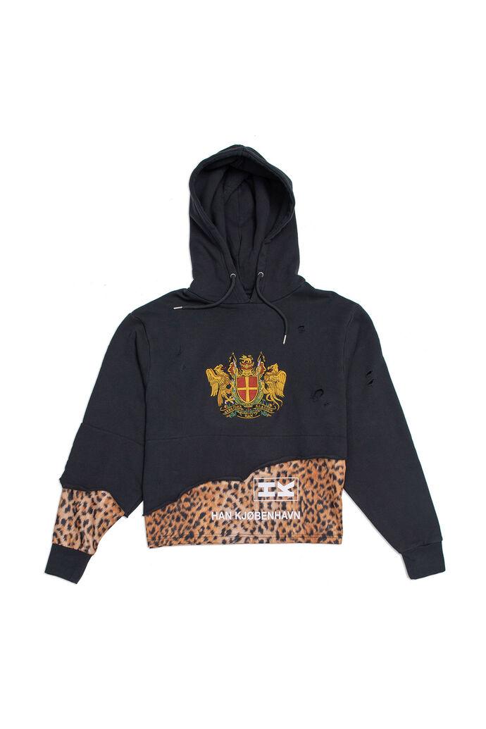 Bulky hoodie F-130062