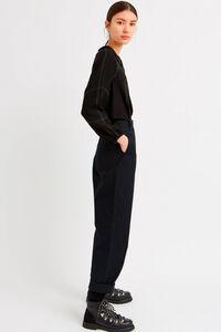 Hanni trousers 11931602-5201, BLACK
