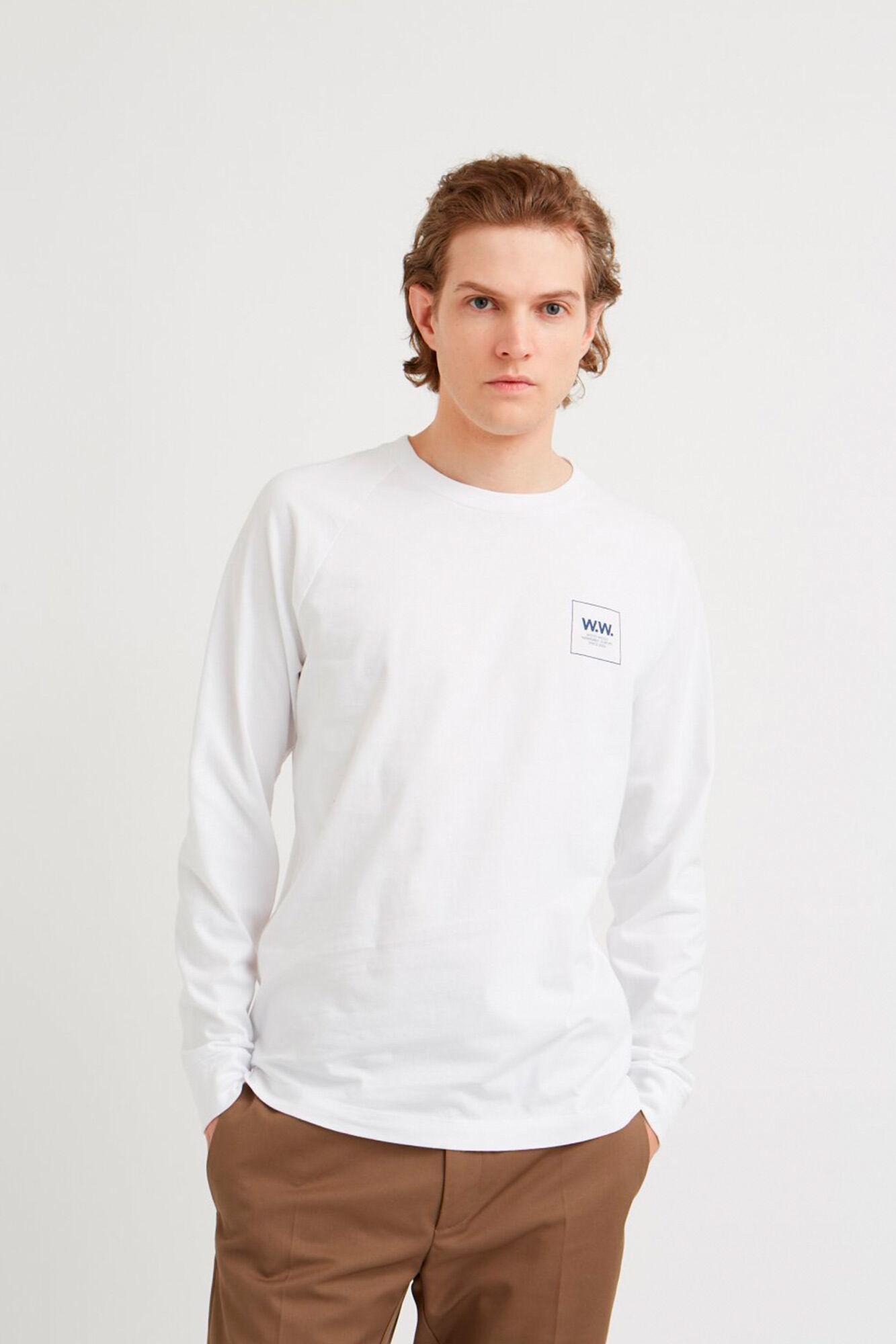 Han long sleeve 11935408-2334, BRIGHT WHITE