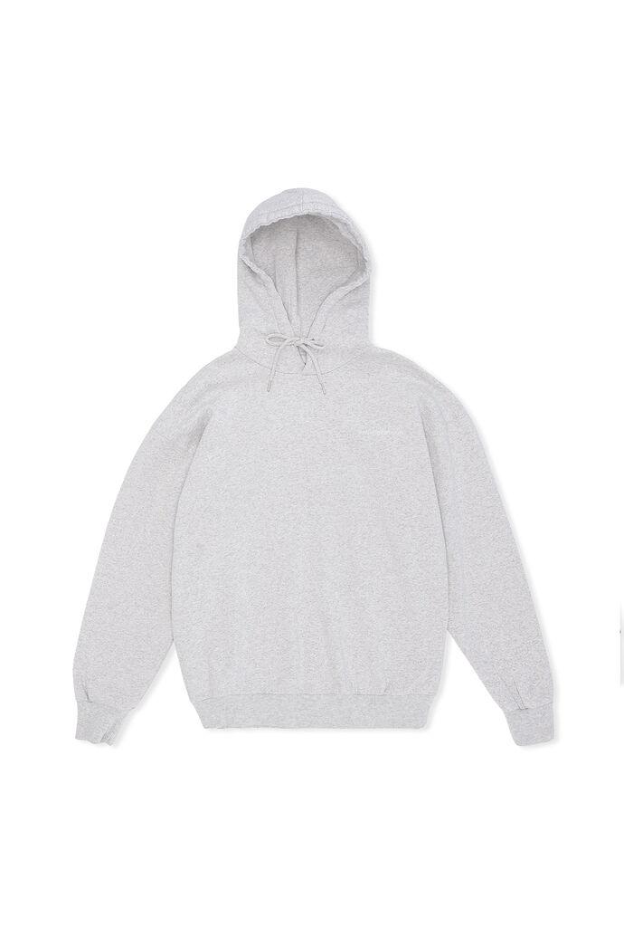 Artwork hoodie M-130147, GREY MELANGE