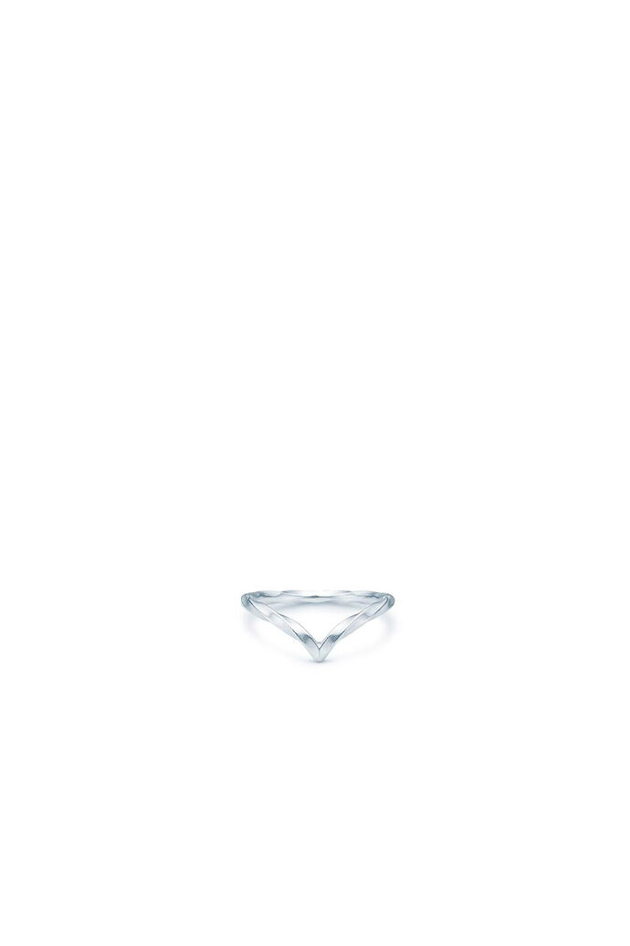 Unicorn v-ring IDR005RH, RHODIUM