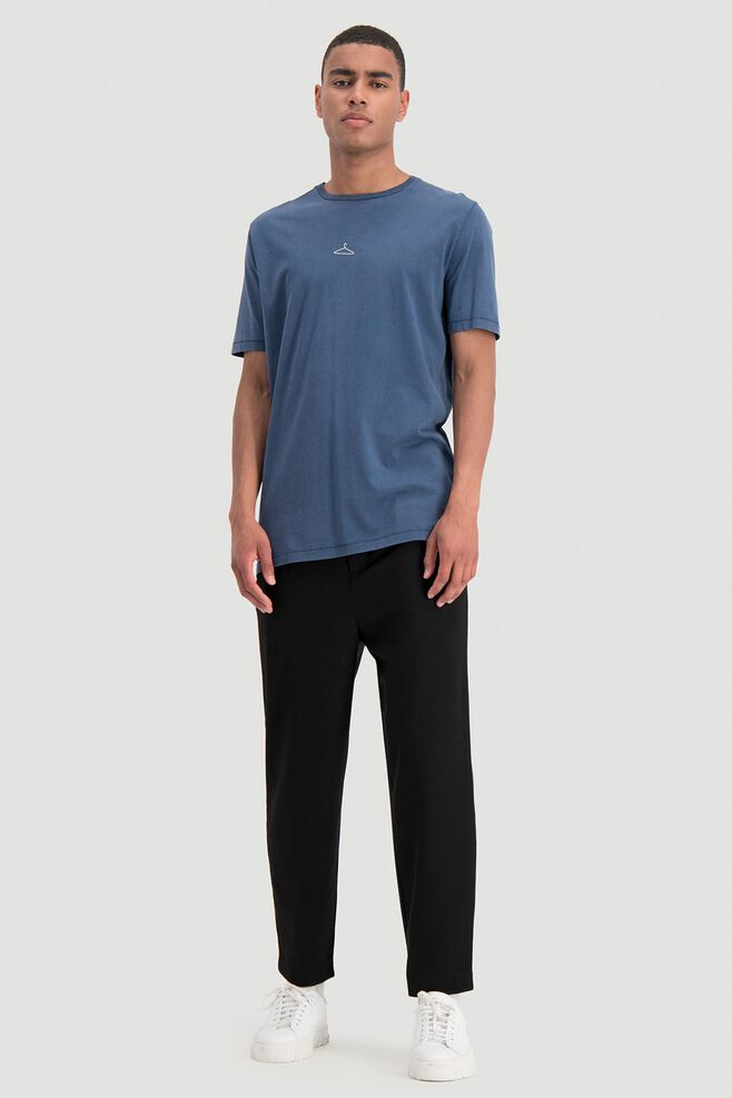 Hanger tee 10240, NAVY WASHED
