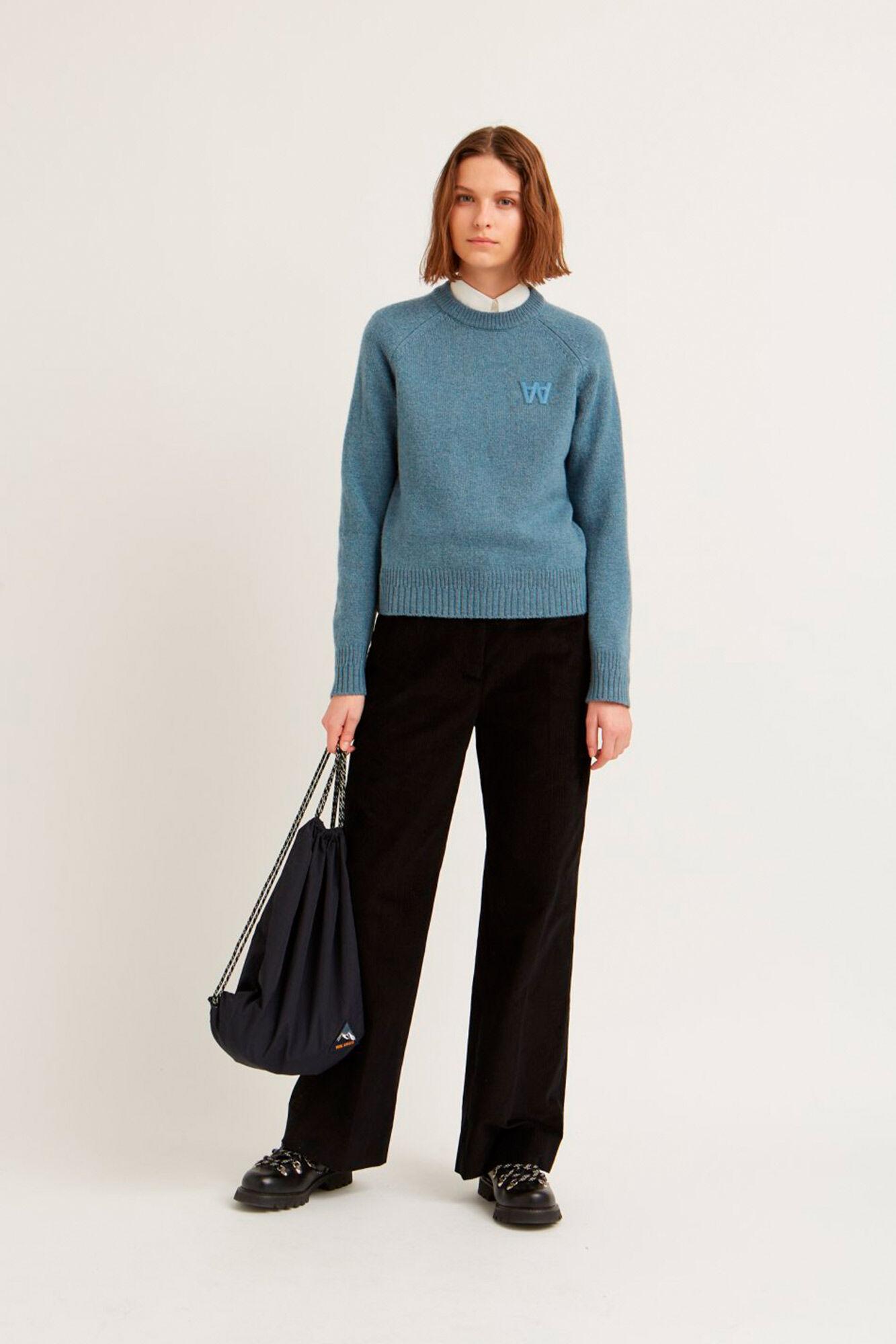 Asta sweater 11931001-4033, DUSTY BLUE