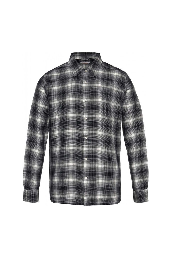 Larch ls checked shirt, TOTAL ECLIPSE