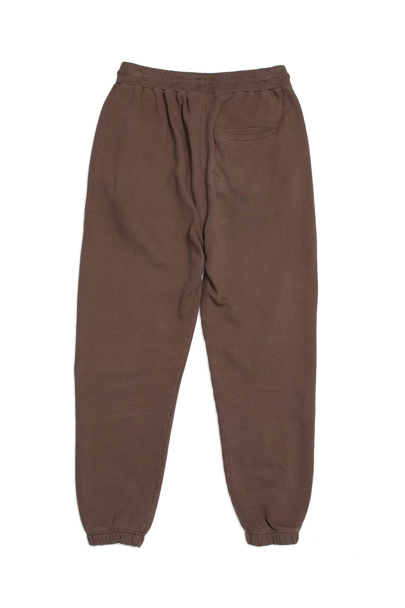 Sweat pant M-120084, FADED BROWN