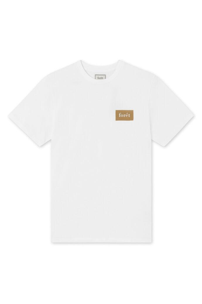 Trek t-shirt, WHITE ARMY