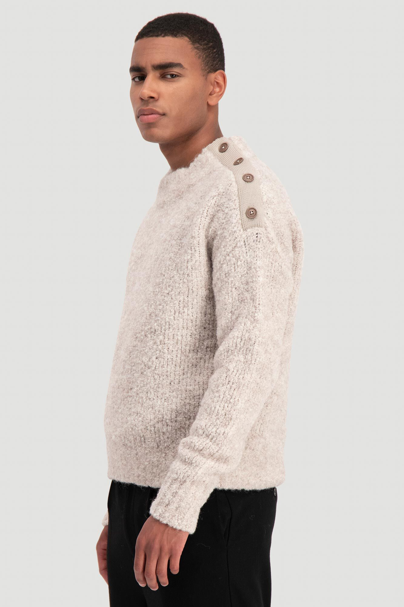 Termite knit sweater 10307, SAND
