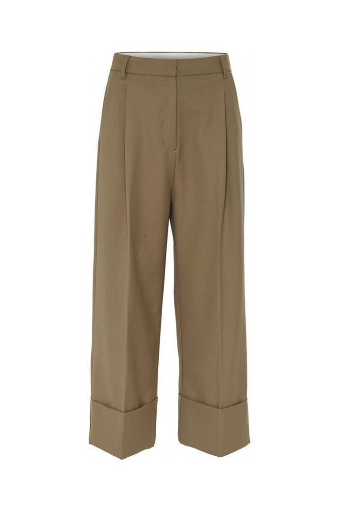 Heidi high waist pant 11861329, CAMEL