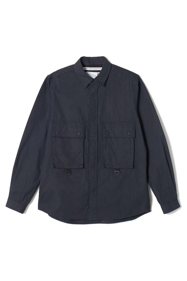 Big pocket shirt WM1973102, BLACK BLCK