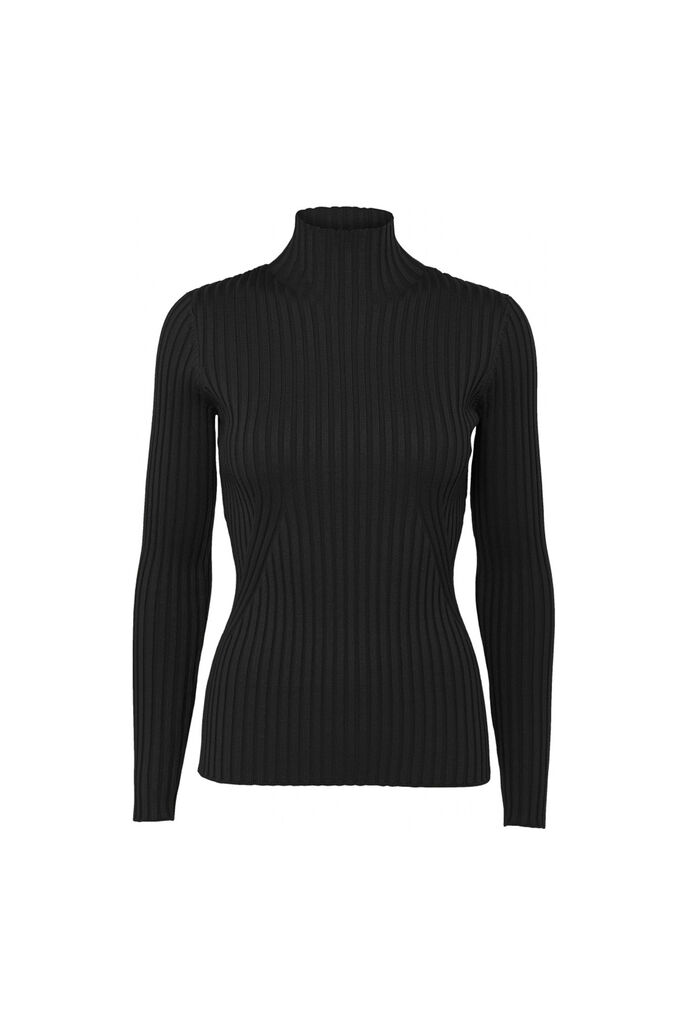 Karlina knit top 11861413, BLACK