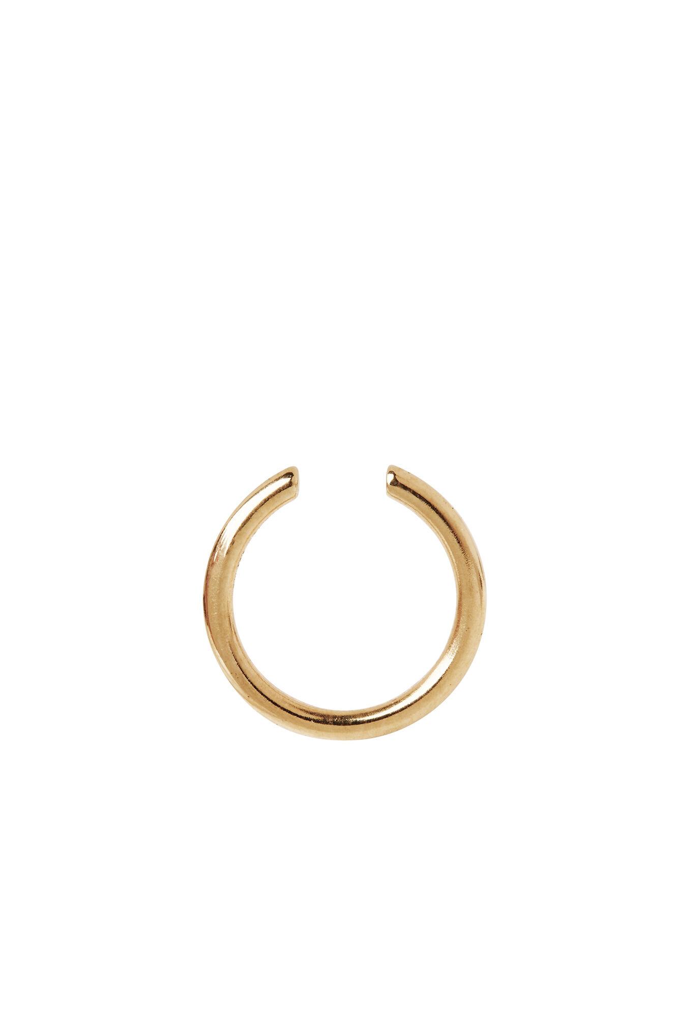 Twin mini earcuff, GOLD
