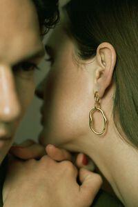 Pond earring 100728YG, GOLD HP