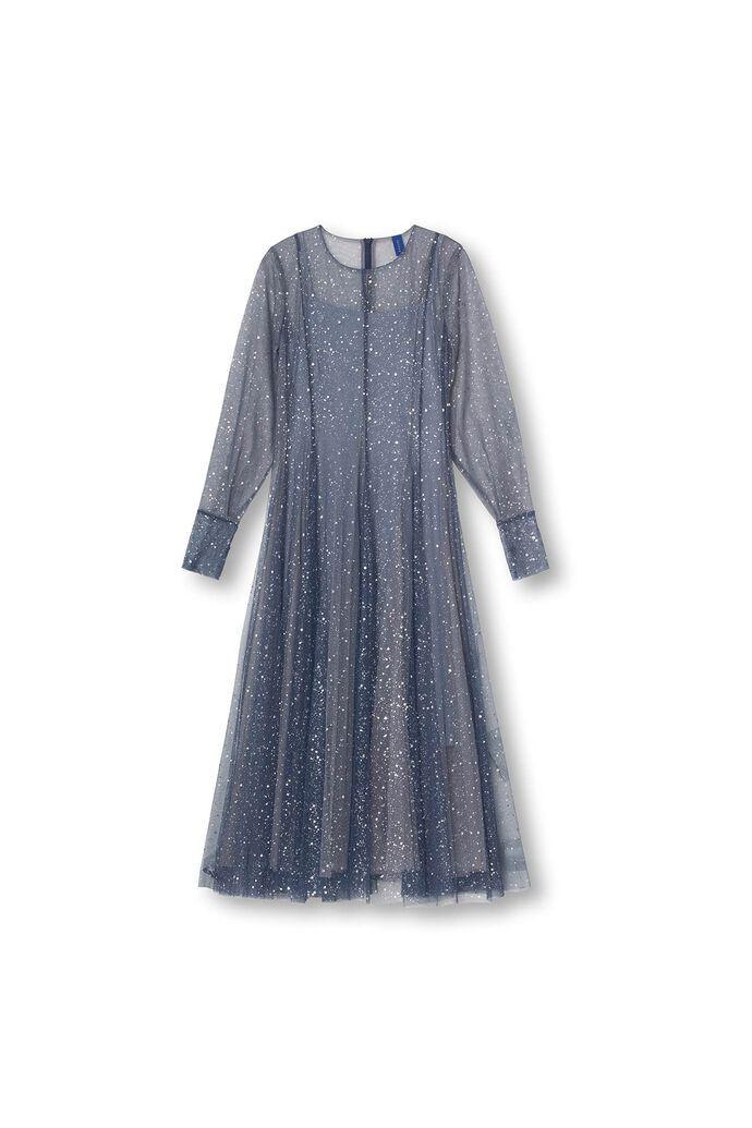 Roma dress 07400440, DUSTY BLUE