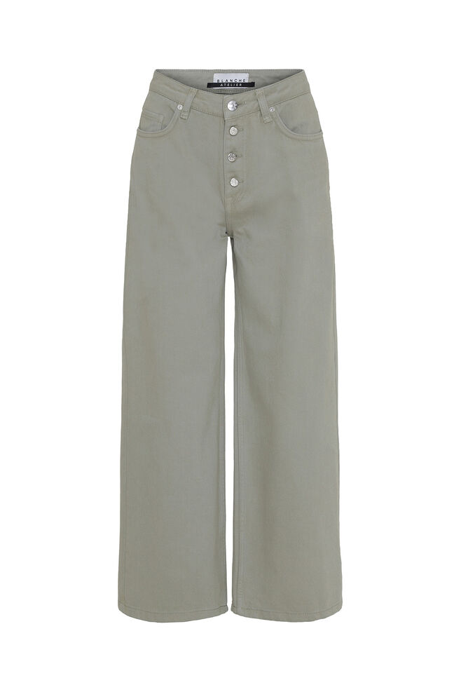Alia clean pants 81145, MOSS GRAY