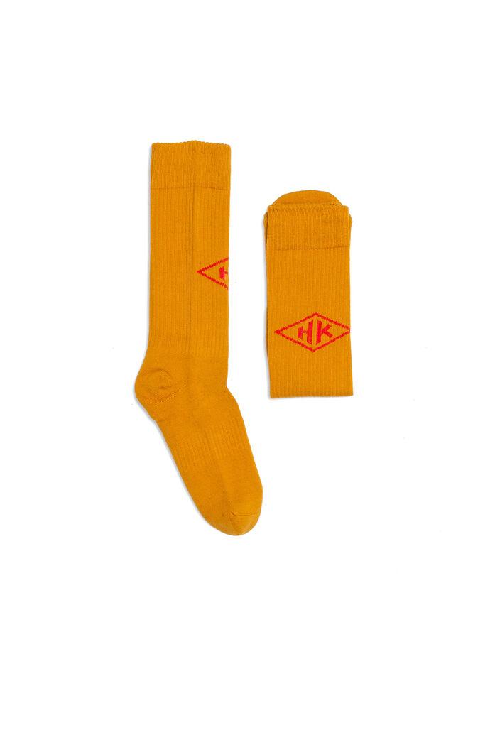 Socks A-120002, MUSTARD