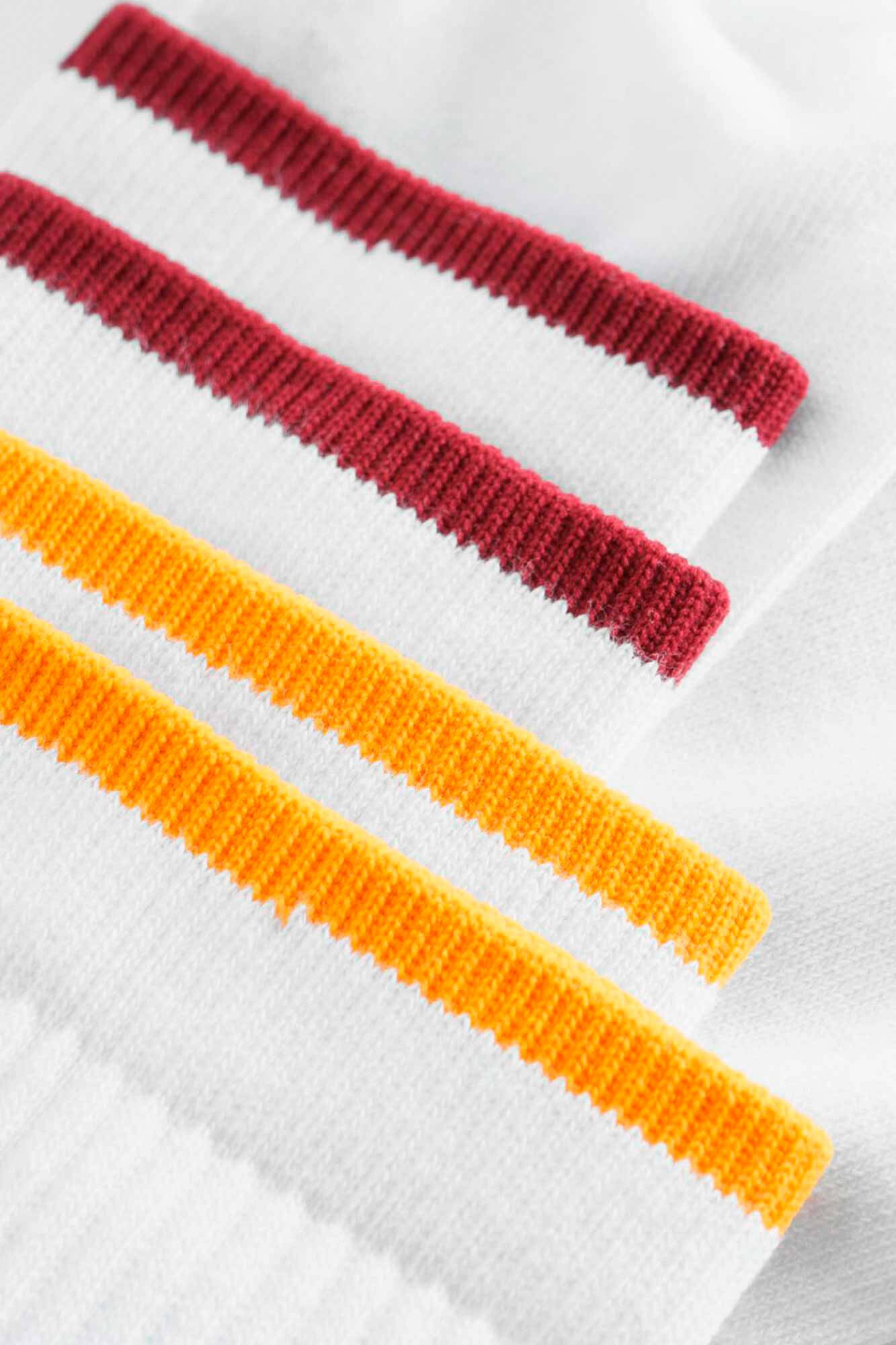 Gail 2-pack sock 11939004-9517, BRIGHT WHITE STRIPE