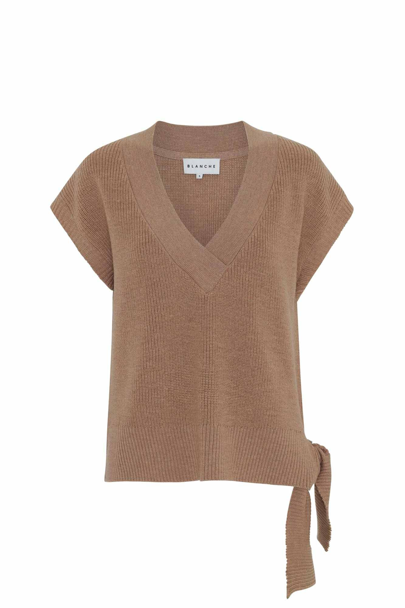 Honey vest 82039, TOFFEE