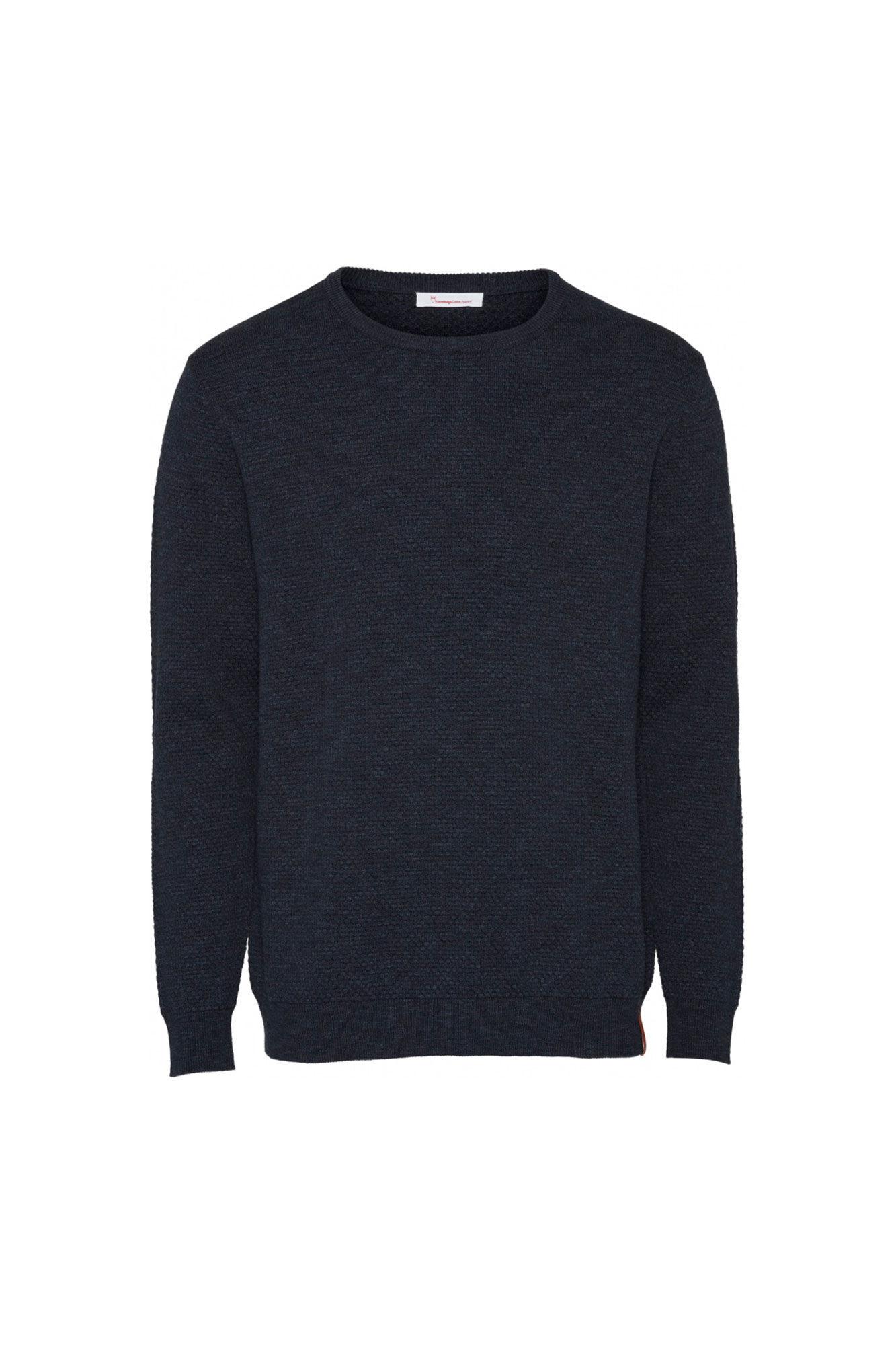 Bobble knit crew-neck 80563