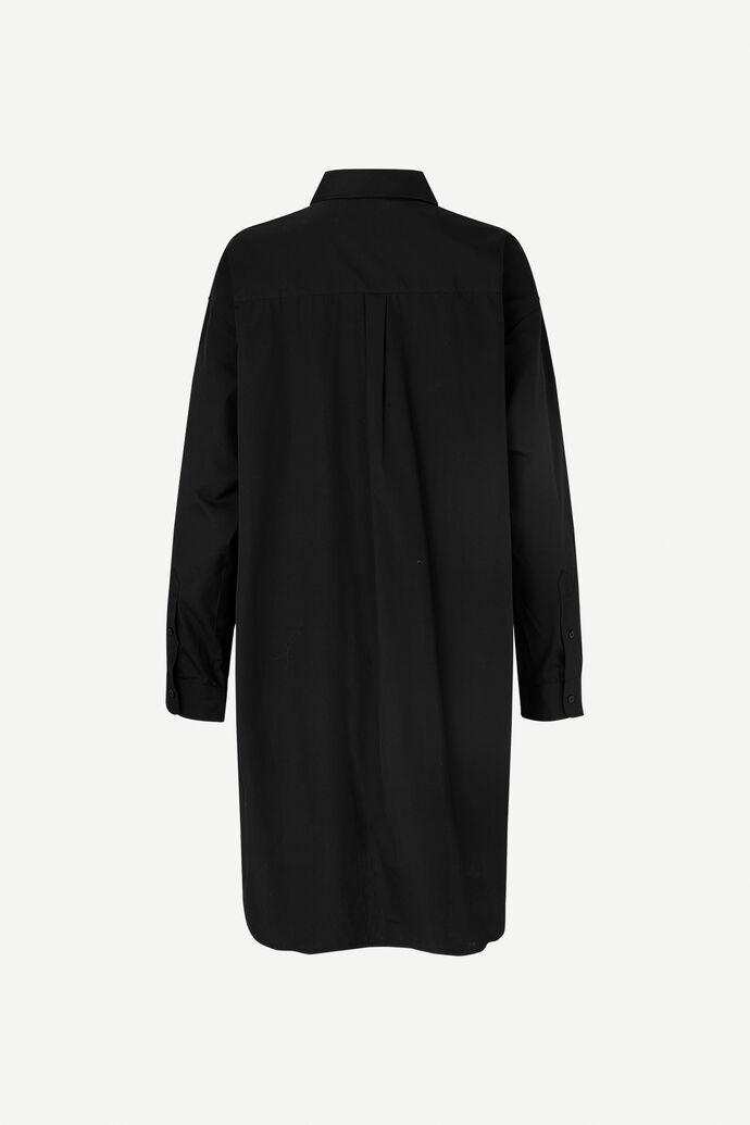 Luana shirt dress 11468, BLACK numéro d'image 5