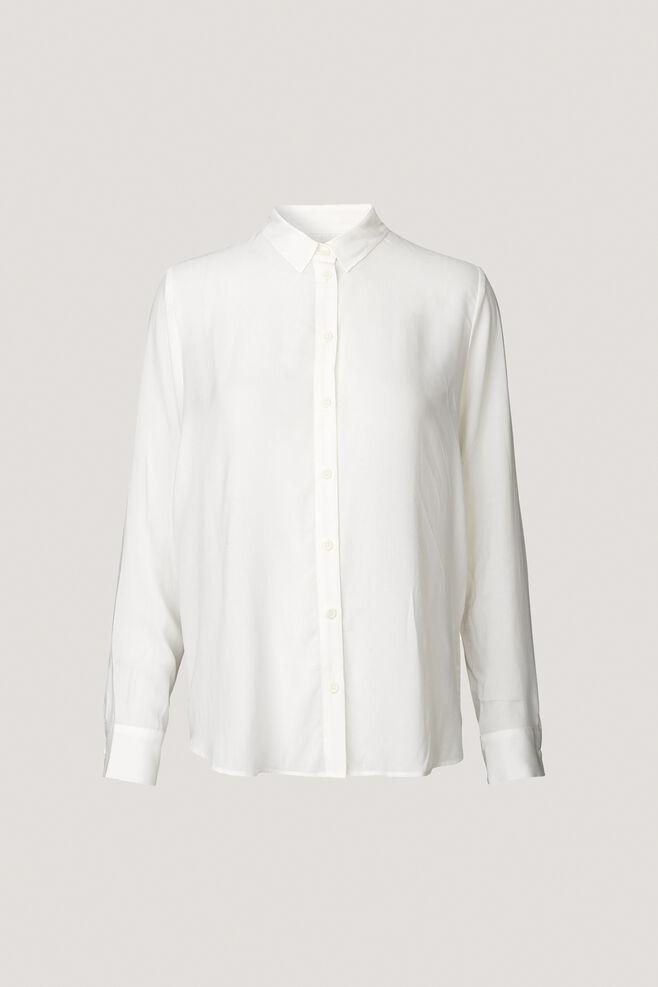 Maj ls shirt 3856, CLEAR CREAM