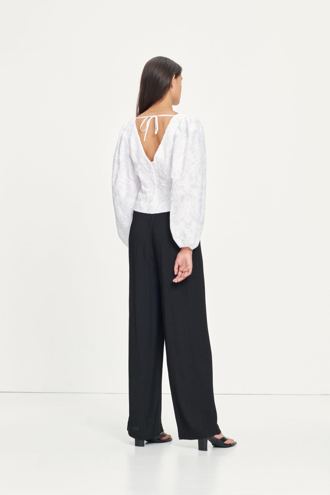 Anai blouse 13089, BRIGHT WHITE