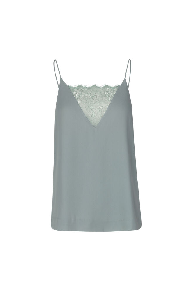 Biaf lace top 6891, CHINOIS GREEN