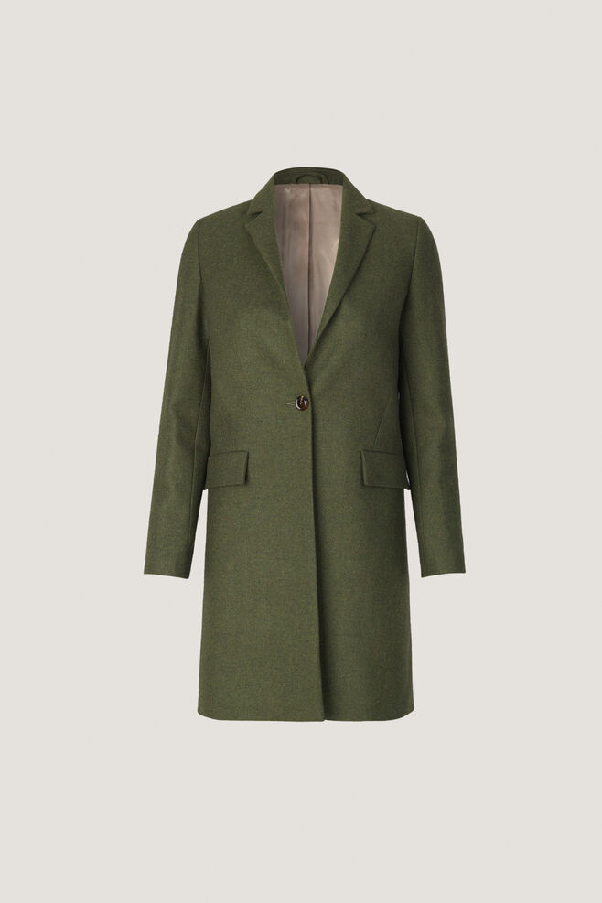 Taryn short jacket 10385, GREEN MEL.