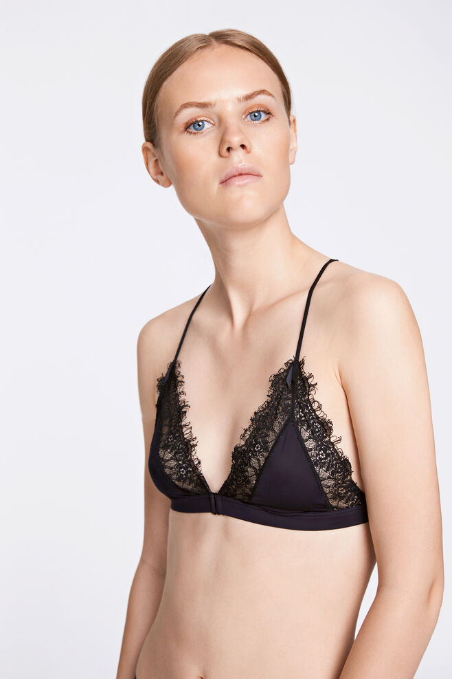 Theresa bra 8318, BLACK