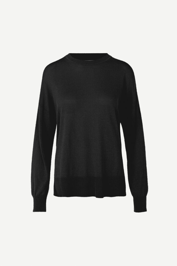 Dida crew neck 5812, BLACK
