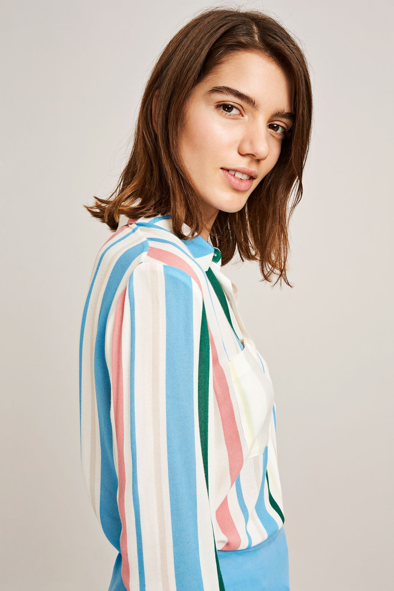 Milly shirt aop 7201, COTTAGE STRIPE