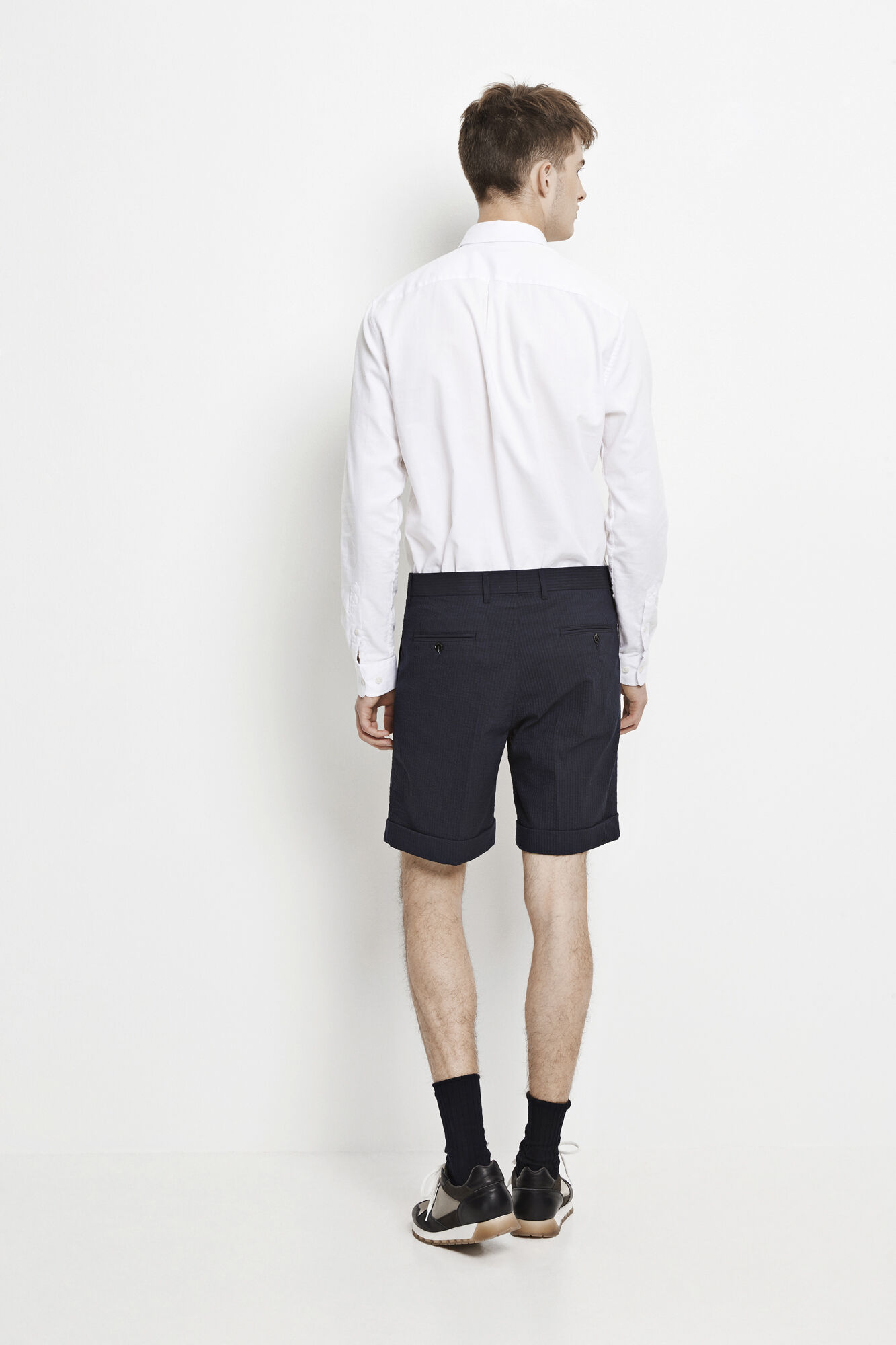 Laurent shorts fold up 7990, DARK SAPPHIRE