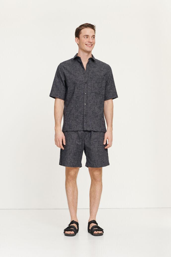 Sennan shorts 11529, BLACK MEL.