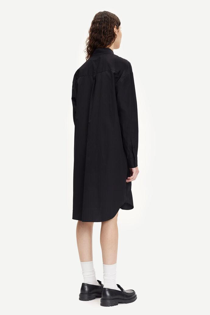 Luana shirt dress 11468, BLACK numéro d'image 2