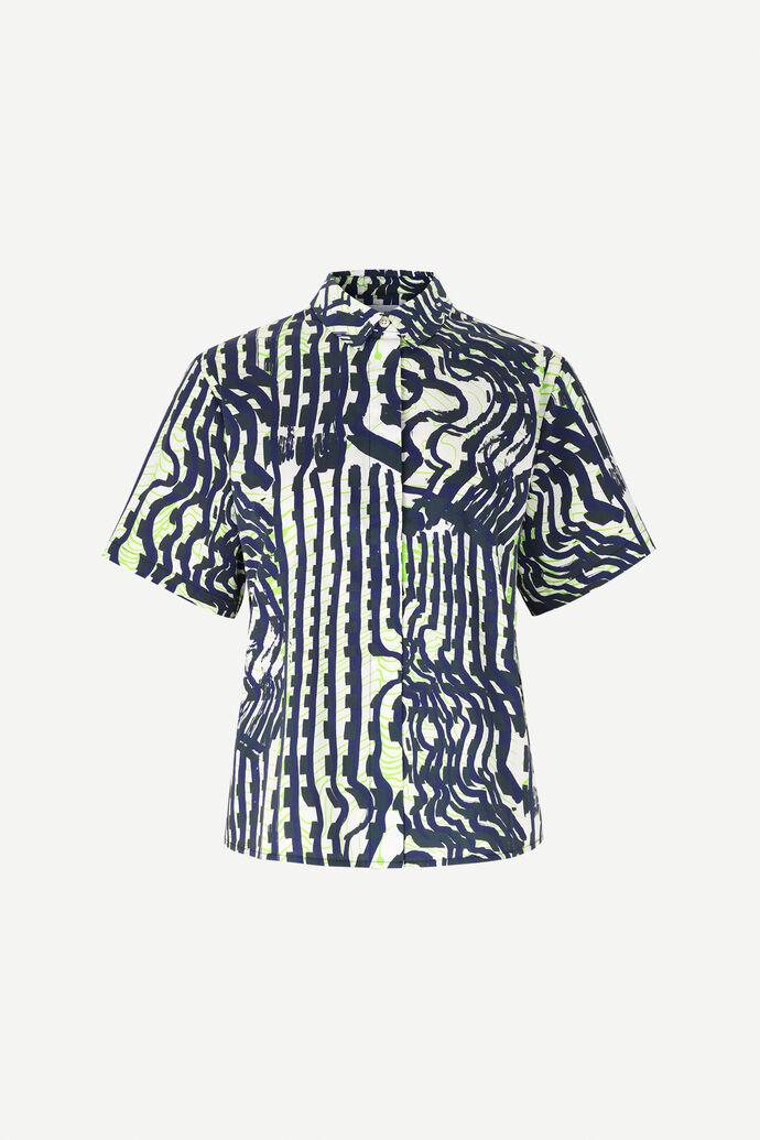 Mina shirt ss aop 11332, SEISMOGRAPH
