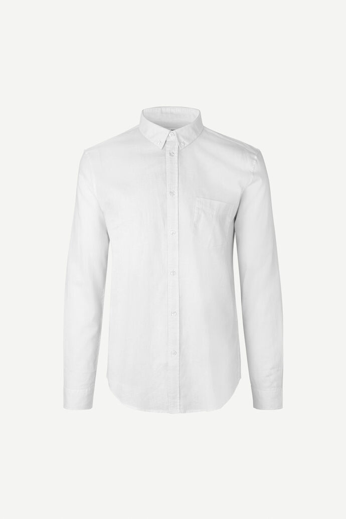 Liam BA shirt 6971, WHITE